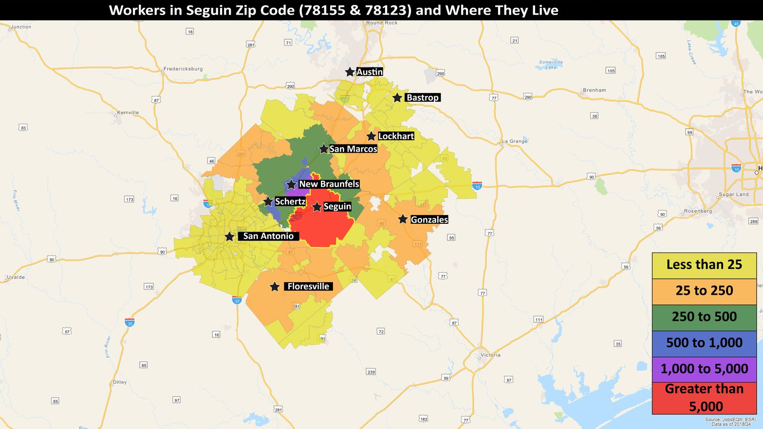 Talent and Labor Availability in Seguin